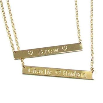 Engraving fee for necklace