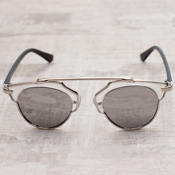 The Lookout Sunglasses - Silver