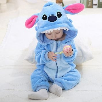 Adorable Novelty Cartoon Character Animal Jumpsuit