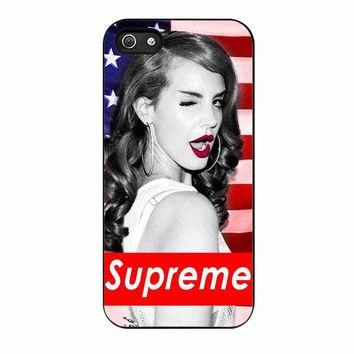 lana del rey supreme american cases for iphone se 5 5s 5c 4 4s 6 6s plus