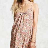 Daisy Print Cami Dress