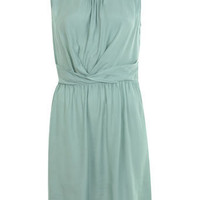 Mint Wrap Waist Pintuck Dress - Day Dresses - Dresses - Apparel - Miss Selfridge US