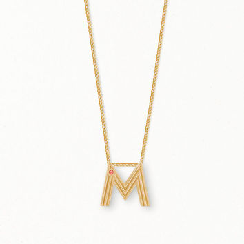 MINITIALE Necklace with initial pendant