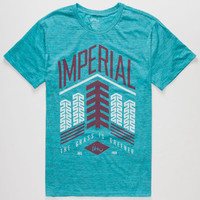 Imperial Motion Greener Grass Mens T-Shirt Aqua  In Sizes