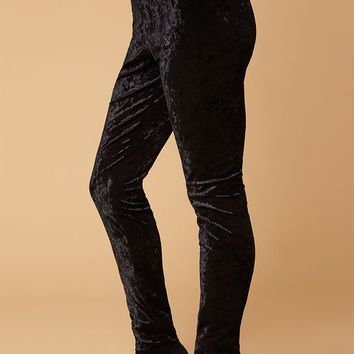 LA Hearts Velvet Leggings at PacSun.com