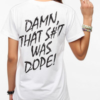 Urban Outfitters - NWA Damn That Was Dope Tee