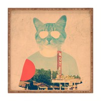 Ali Gulec Cool Cat Square Tray