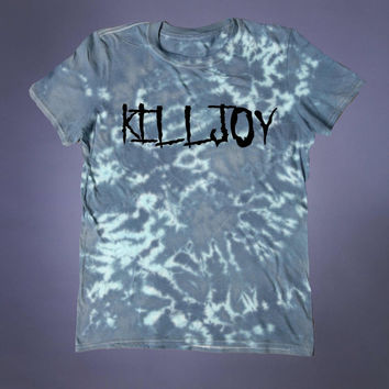 Punk Clothing Kill Joy Slogan Tee Creepy Cute Emo Soft Grunge 90's Alternative T-shirt