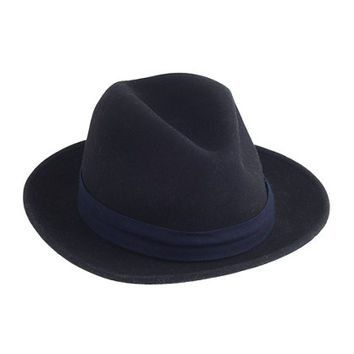 J.Crew Mens The Hill-Side Wool Fedora