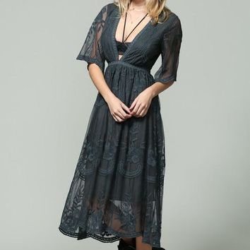 Let There Be Lace Dress