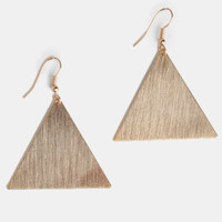 Divine Thing Geometric Earrings - $12.00 : ThreadSence, Women's Indie & Bohemian Clothing, Dresses, & Accessories
