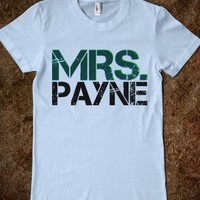 Mrs. Payne T-Shirt - One Direction Shirts (: