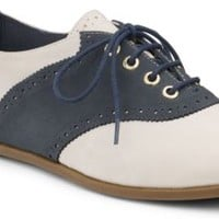Sperry Top-Sider Taylor Oxford IvoryNubuck/Navy, Size 12M  Women's Shoes