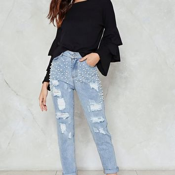 Mama's Pearl Jeans