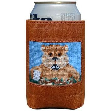 Caddyshack Needlepoint Can Holder by Smathers & Branson