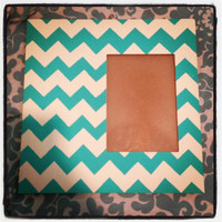Chevron Picture Frame