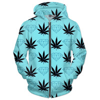 Diamond weed jacket
