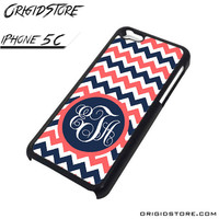 Chevron Personilzed Type Your Name Case For Iphone 5C Case