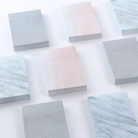 Stone Pattern Sticky Notes