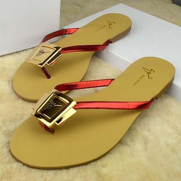 Trendsetter YSL Women Casual Fashion Flat Sandal Slipper Shoes