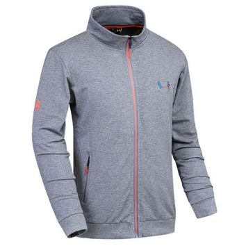 ICIK272 Trendsetter Under Armour Men Fashion Casual Cardigan Jacket Coat