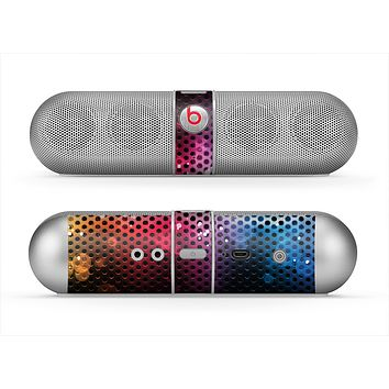 The Neon Glowing Grill Mesh Skin for the Beats by Dre Pill Bluetooth Speaker