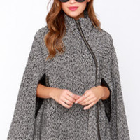 For Sure-lock Black and Ivory Cape