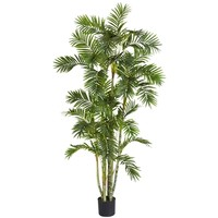 SheilaShrubs.com: 6' Areca Palm Silk Tree 5337 by Nearly Natural : Artificial Flowers & Plants