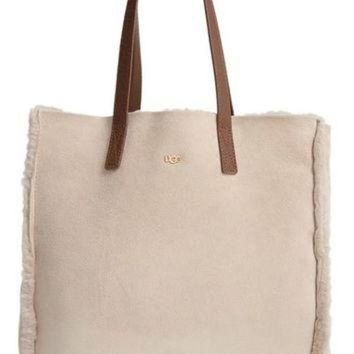 CREY1O UGG? Claire Genuine Shearling Tote | Nordstrom