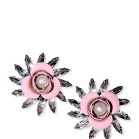 MSGM Flower Earrings - Stud Earrings - ShopBAZAAR