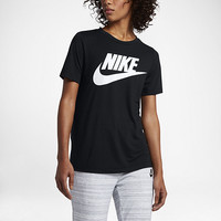 The Nike Sportswear Essential Women's Short Sleeve Top.