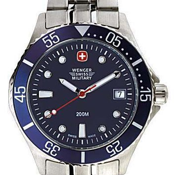 Wenger 70998 Men's Swiss Made Stainless Steel Watch