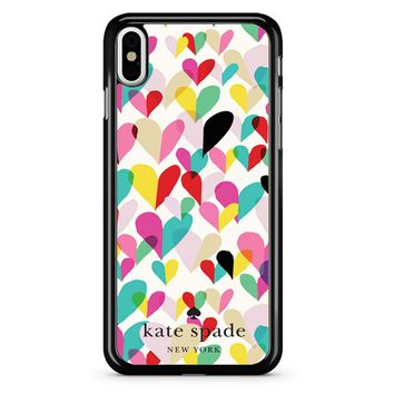 Kate Spade New York Hearts iPhone X Case