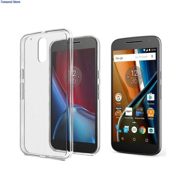 Ultra Thin Cover For Moto Motorola G4 G4 Plus G 4th Gen Play G4Plus For Lenovo Fit Protective TPU Rubber Soft Shield Case