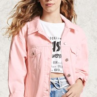 Snap Button Denim Jacket