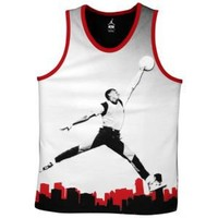 Jordan 1 Poster Tank - Men's at Foot Locker