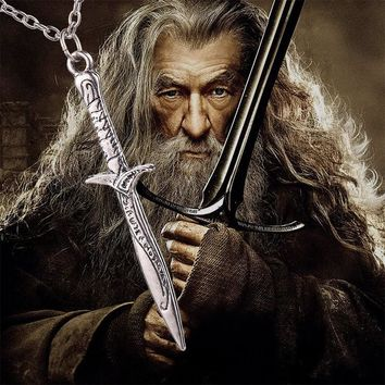 The Lord of the Rings Frodo Bilbo Baggins Sting Sword Necklace