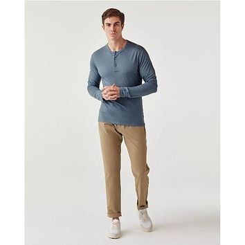Olivers - Convoy Henley Blue Note Short Sleeve