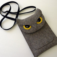 $53.00 Kindle Fire Owl Sleeve (iPhone and Laptop Sleeves Available) by BoutiqueID