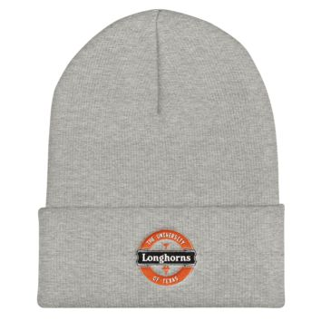 Texas Longhorns: Lager Label-Inspired Cuffed Beanie