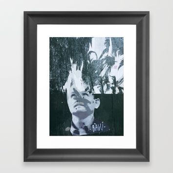 Layers 12 Framed Art Print by EXIST NYC