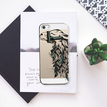 Poetic Llama iPhone 5s case by LouJah | Casetify