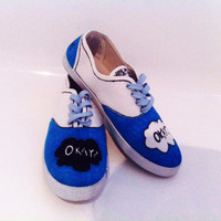 Shoes inspired by The Fault In Our Stars 'Okay?' 'Okay.'
