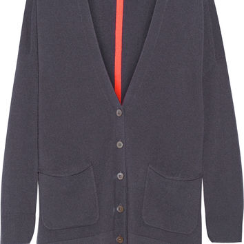 Duffy - Two-tone cashmere cardigan