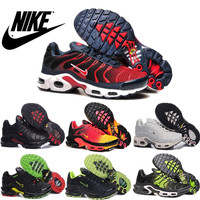 Nike Air Maxes 2016 Tn Mens Running Shoes,100% Original Quality Nike Airmax Tn Runs Shoes 2016 Free Shipping