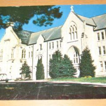 Vintage Abbey Of Our Lady Of New Melleray Dubuque Iowa Postcard