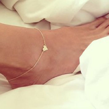 Anklet  Leg Chain On Foot