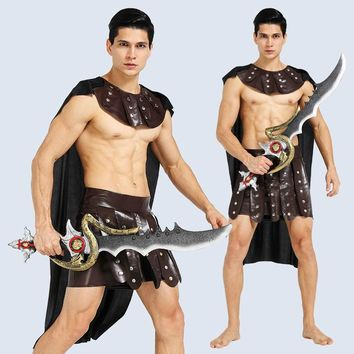 Jenny Halloween Cospaly Apparel Sparta Adult Caesar Ancient Roman Warrior Clothes Goddess Gladiator