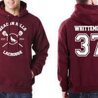 Whittemore 37 Beacon Hills Lacrosse Teen Wolf Unisex Hoodie S to 3XL