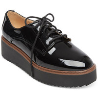 Madden Girl Written Platform Oxfords | macys.com